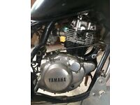 125 chopper project Yamaha enginn