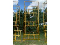 FREE DEDLIVERY DIY Scaffolding/Scaffold Tower Powder Coated Work Height: 7,3m 22'1ft