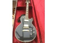 Japanese black Les Paul copy - good action easy to play