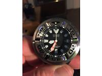 Citizen aqua land ecozilla Bj8050 professional divers watch