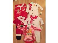 Baby first Christmas clothes 0-3 months brand new with tags