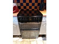Beko double electric oven cooker. Mirror front.