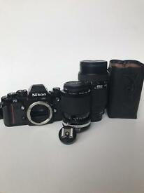 Nikon F3 professional camera collection