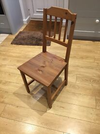 2 Ikea Kitchen/Dining/bedroom chairs