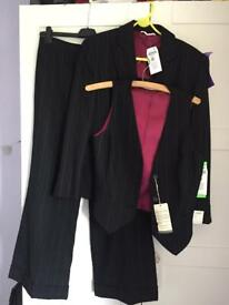 3 piece Next wool suit - size 12 *BRAND NEW*