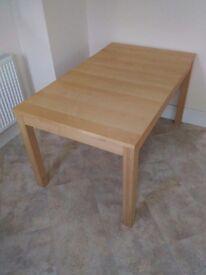 Extendable table IKEA BJURSTA