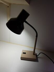 VINTAGE ORIGINAL HERBERT TERRY MODEL 99 GOOSE NECK ANGLEPOISE DESK LAMP MCM RETRO HOME OFFICE GC
