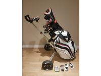 wilson staff golf bundle. incl raylor ghost putter, cobra amp-d driver, and more