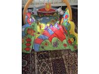 Baby farm play mat
