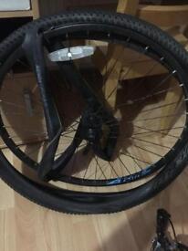 Random pedal bike frame and bits