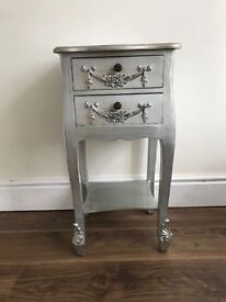 Silver side table from dunelm rrp £80