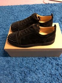 Christian louboutin junior spikes size 8