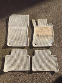 Genuine Car mats from Mercedes Benz E320 cdi 2003