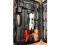 Black and decker drill new, never used with case