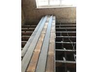 Reclaimed floor board