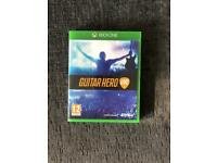 Guitar hero Xbox one with 2 guitars