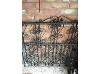 Metal gates 2 pairs available