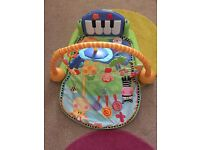 Fisher price piano play mat
