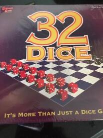 BNIP - University Games - 32 Dice - Strategy Game