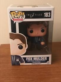 Funko Pop Vinyl - 183 The X Files - Fox Mulder - Mint in Box