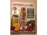 Nutribullet Pro Deluxe Edition