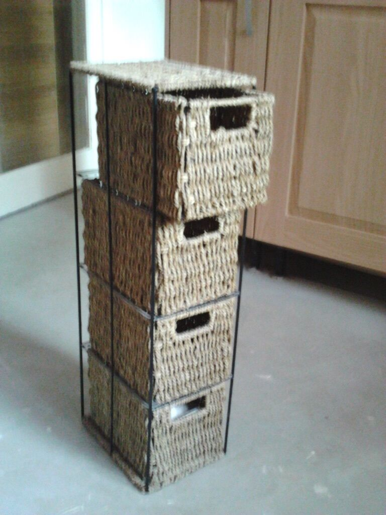 Wicker Storage Drawers In Exeter Devon Gumtree