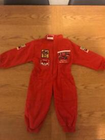 Kids race car driver costume - fancy dress 1-2 years