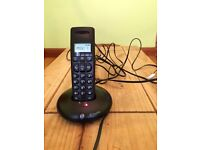 BT GRAPHITE DIGITAL CORDLESS SINGLE TELEPHONE