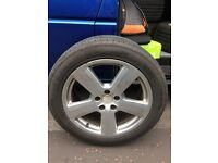 Superia 235/50 18 tyres, ideal for VW T5! £100 for 4. Almost brand new.