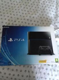 PlayStation 4 with 6 games