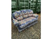 Blue bird sofa