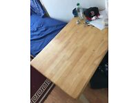 Dinning/ Reading table with chair