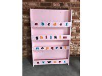 Childrens Alphabet Bookcase