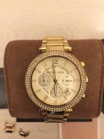 Lovely gold Michael Kors watch