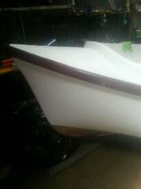 17ft ex scout boat