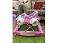 My child coupe- 2 in 1 walker / rocker £30