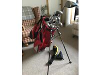 Golf clubs (full set) Cobra Driver and Hybrid with Nike Irons