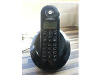MOTOROLA C601 DIGITAL CORDLESS TELEPHONE / HOME PHONE