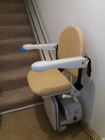 Handicare Straight Stair Lift 13 Steps