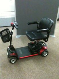 GOGO ELITE TRAVELLER mobility scooter, 21 stone user weight, good condition