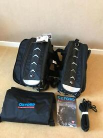 Motorcycle Panniers Oxford X50 Lifetime 50 Litre. New with Tags