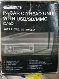In car CD head unit