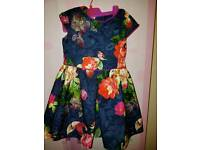 Ted baker dress age 7