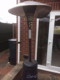 Large patio heater