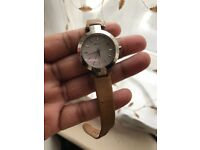 DKNY Leather Tan Strap Watch
