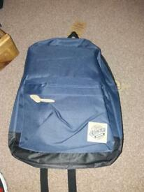 Hipster Backpack! Navy Blue. Never used!