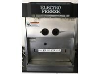 ELECTROFREEZE Fully working Soft Serve Ice cream machine - Triple head (2 flavours + mix)