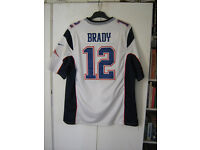Tom Brady NFL New England Patriots American Football jersey Size XL Adult