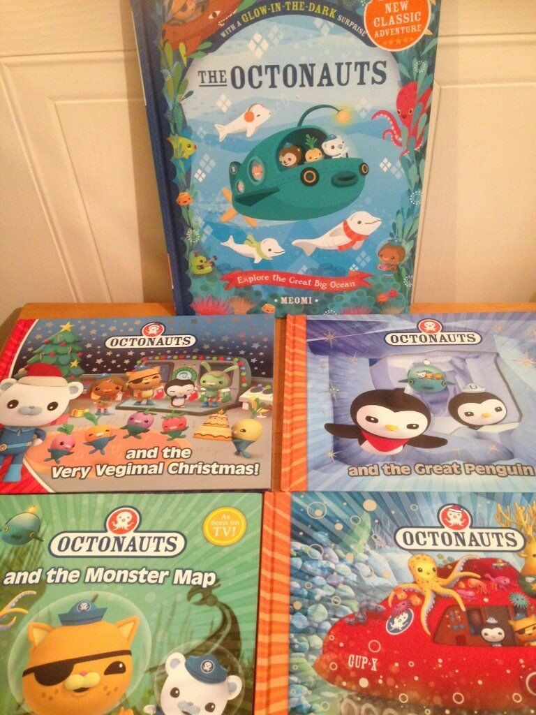 Octonaut Hardback Books £3 each or 4 for £10 (CAN POST)