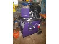 Parweld 400 amp 3 phase mig welder
